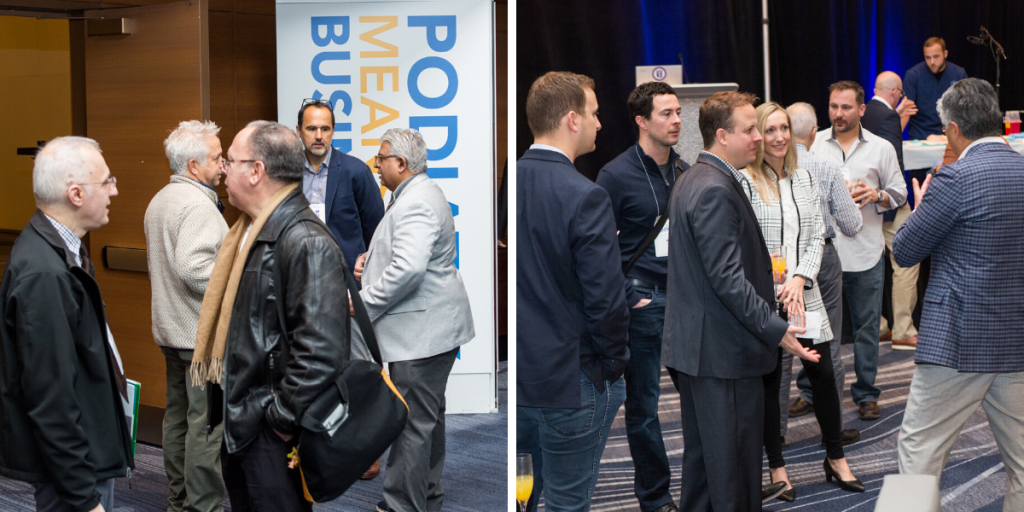 Exhibits and networking opportunities at IPMA 2019